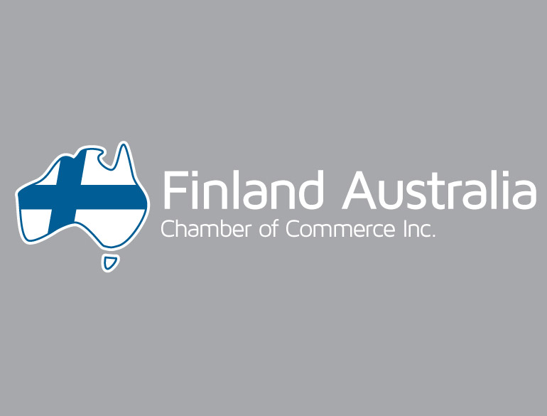 Finland Australia Chamber of Commerce logo evolution