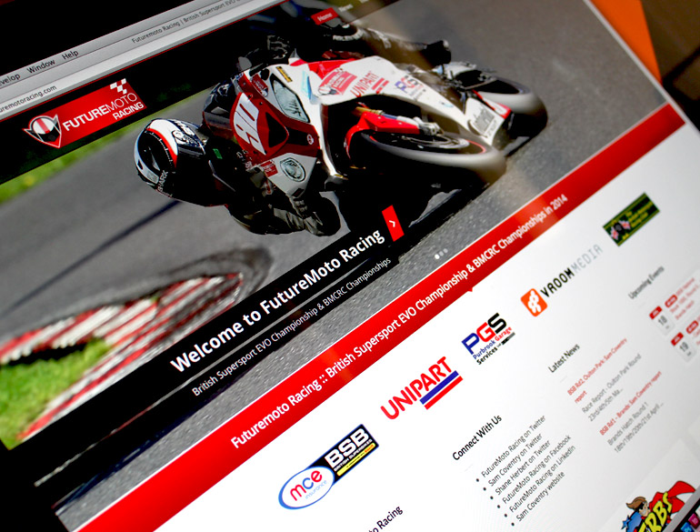 FutureMoto Racing – website