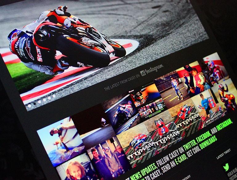 Casey Stoner Official Website - - 160.4KB
