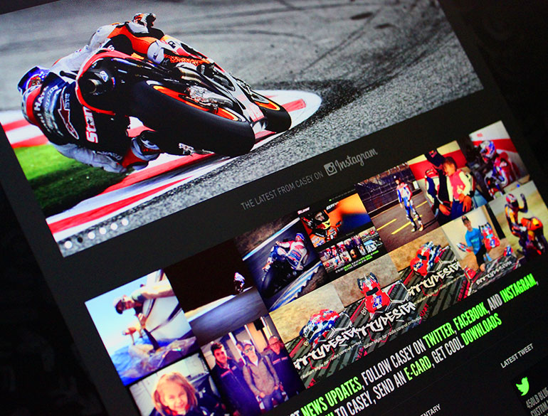 Casey Stoner Official Website