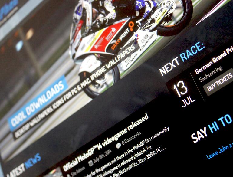 John McPhee, Moto3 rider – website