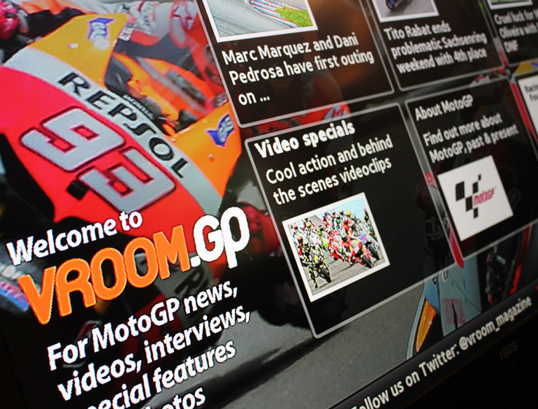 Vroom.GP Smart TV App