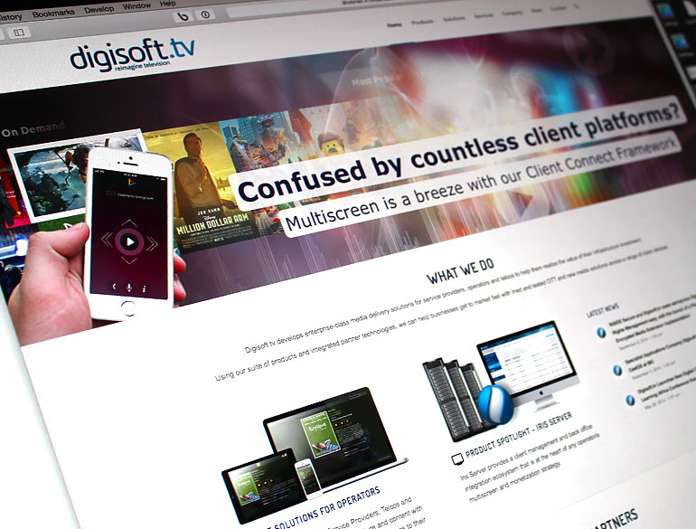 Digisoft.TV Website Overhaul